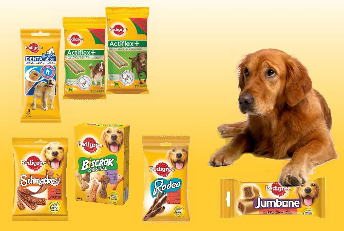 Snacks per cani Pedigree