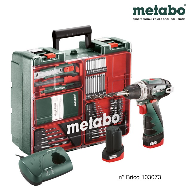 Metabo trapano avvitatore BS Powermaxx