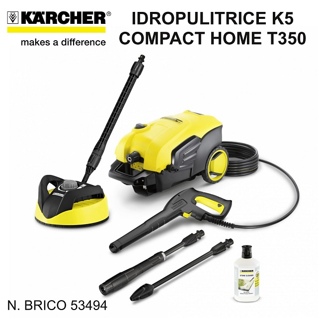 idropulitrice karcher K5 compact home t350